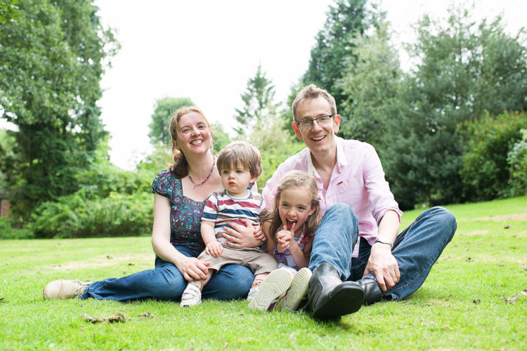 Ken and Vanessa's Family Shoot at Beauchief Gardens